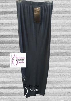 IG-3300-A Pantalón Punto Bisu ( Azul, Negro)