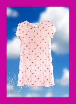 M-7807 Camisola  algodón topo rosa