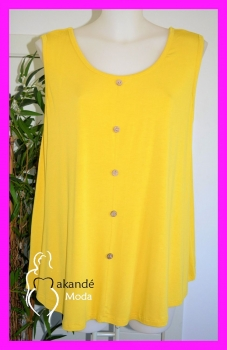 M-2068-AM Top Punto Botones. AMARILLO.