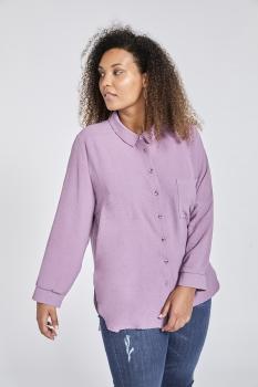 S-20164 Camisa básica bomba. (Frambuesa, purple,  canard ).