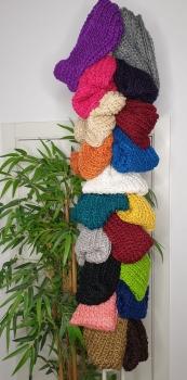 M- 1515B Cuello de lana muy suave 1 vuelta. (Elegir color)
