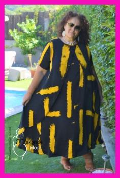 M-1758-MO Vestido MIRO (Nueva Colección)