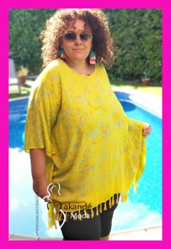 M-2301-VA09 Poncho Normal AMARILLO