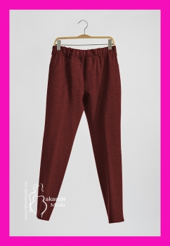 S-19568GR Pantalon punto. GRANATE.